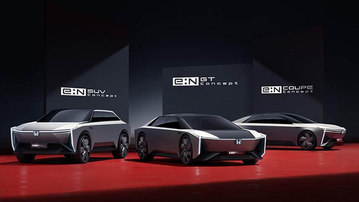 Honda shows two new production EVs, three concept models under e:N series: Check details