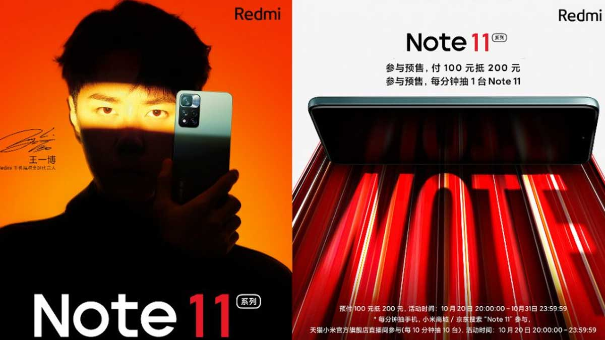 Redmi Note 11 series teased to be the most advanced Note yet, specs revealed