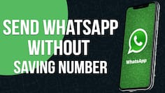 How to send WhatsApp message to unsaved contact number